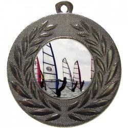 Silver Windsurfing Medal 50mm