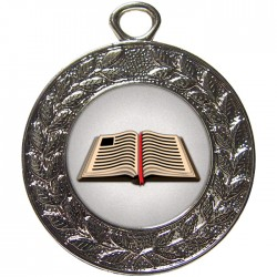 Silver Book Medal 45mm