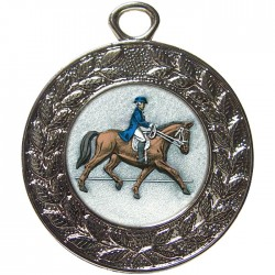 Silver Dressage Medal 45mm