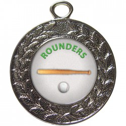 Silver Rounders Medal 45mm
