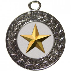 Silver Star Medal 45mm