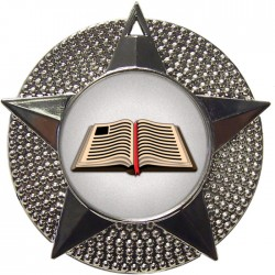 Silver Book Medal 48mm