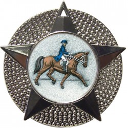 Silver Dressage Medal 48mm