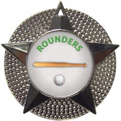 Silver Rounders Medal 48mm