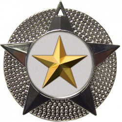 Silver Star Medal 48mm