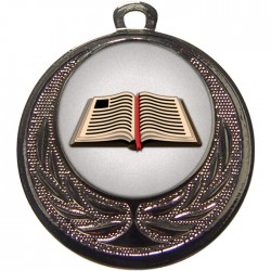 Silver Book Medal 40mm