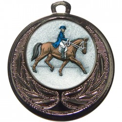 Silver Dressage Medal 40mm