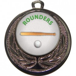Silver Rounders Medal 40mm