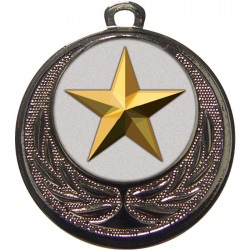 Silver Star Medal 40mm