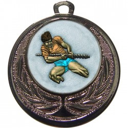 Silver Tug of War Medal 40mm