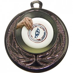Silver Frisbee Medal 40mm
