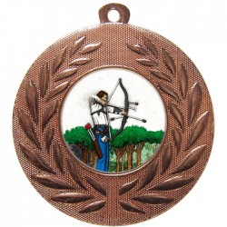 Bronze Archery Medal 50mm