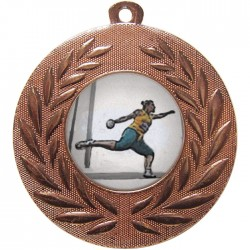 Bronze Discus Medal 50mm