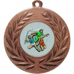 Bronze Javelin Discus Shot Put Medal 50mm
