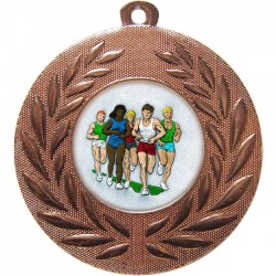 Bronze Marathon Medal 50mm