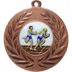 Bronze Relay Medal 50mm