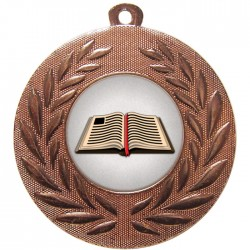 Bronze Book Medal 50mm