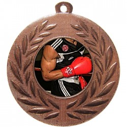 Bronze Boxing Medal 50mm