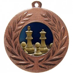 Bronze Chess Medal 50mm
