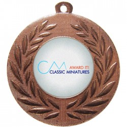 Bronze Bespoke Medal 50mm