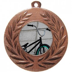Bronze BMX Medal 50mm
