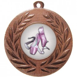 Bronze Ballet Medal 50mm