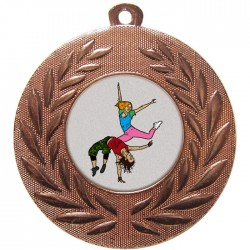 Bronze Street Dance Medal 50mm