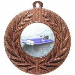 Bronze Rubber Dinghy Medal 50mm
