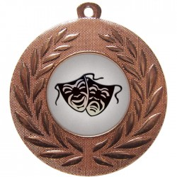 Bronze Drama Medal 50mm