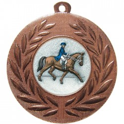 Bronze Dressage Medal 50mm