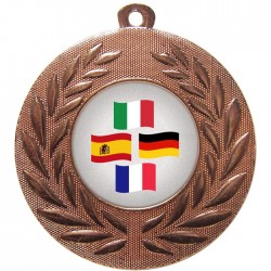 Bronze Languages Medal 50mm