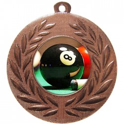 Bronze Pool Medal 50mm
