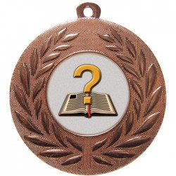Bronze Quiz Medal 50mm