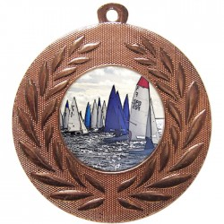 Bronze Sailing Medal 50mm