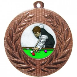 Bronze Snooker Medal 50mm