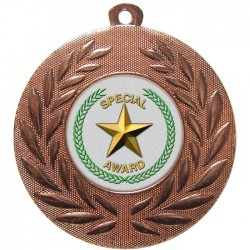 Bronze Special Star Medal 50mm