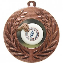 Bronze Frisbee Medal 50mm