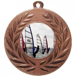 Bronze Windsurfing Medal 50mm