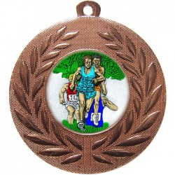 Bronze Cross Country Medal 50mm