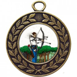 Bronze Archery Medal 45mm