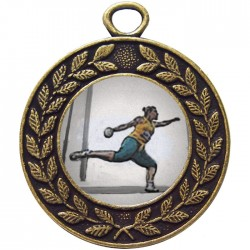 Bronze Discus Medal 45mm