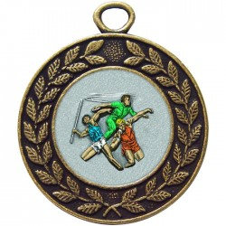 Bronze Javelin Discus Shot Put Medal 45mm