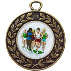 Bronze Marathon Medal 45mm