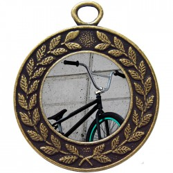 Bronze BMX Medal 45mm