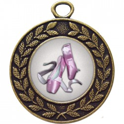 Bronze Ballet Medal 45mm