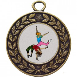 Bronze Street Dance Medal 45mm