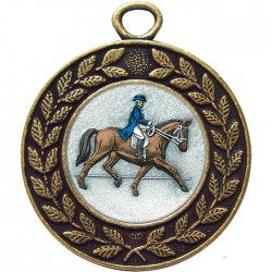 Bronze Dressage Medal 45mm