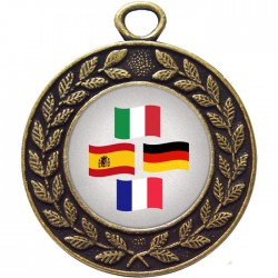 Bronze Languages Medal 45mm