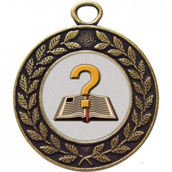Bronze Quiz Medal 45mm