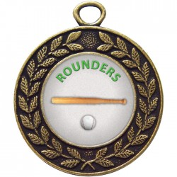 Bronze Rounders Medal 45mm